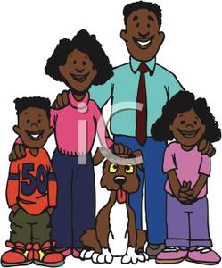 african-american-family-with-their-dog-royalty-free-clipart-picture-6dkqjs-clipart